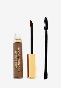 Revolution PRO - ULTIMATE BROW GEL - Eyebrow gel - dark brown - 0