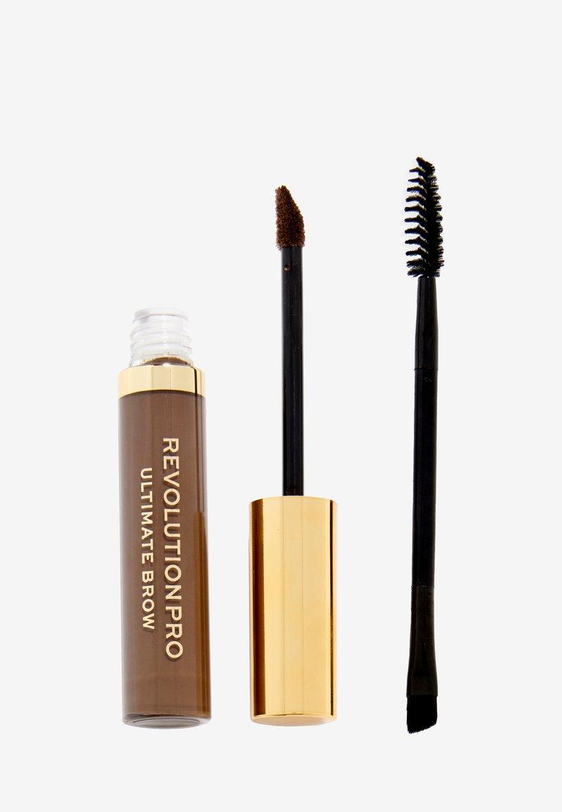 Revolution PRO - ULTIMATE BROW GEL - Eyebrow gel - dark brown