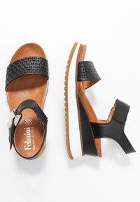 Felmini - KAREN - Sandály na platformě - black - 3