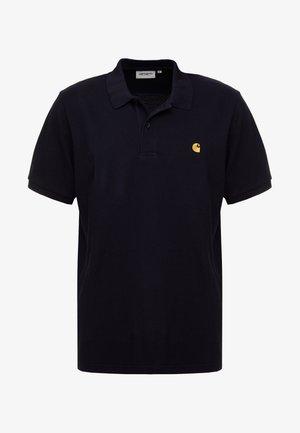 CHASE - Polo shirt - dark navy/gold