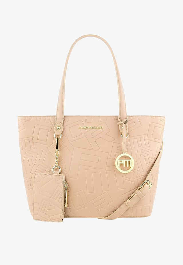 BIAZA - Shoppingväska - beige