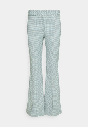 KINNI PLEAT TROUSER - Trousers - blue