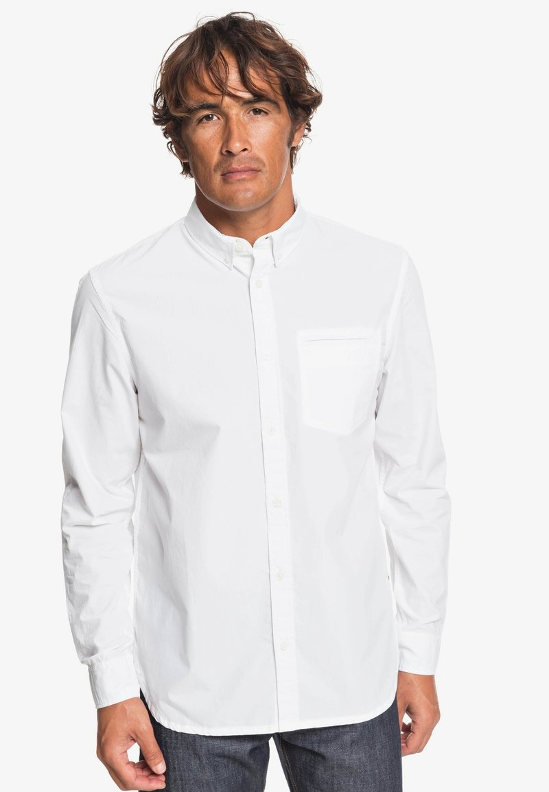 Quiksilver - LONG SLEEVED - Shirt - bright white
