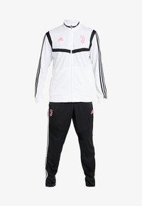 adidas Performance - JUVENTUS TURIN SUIT - Club wear - white/black - 6