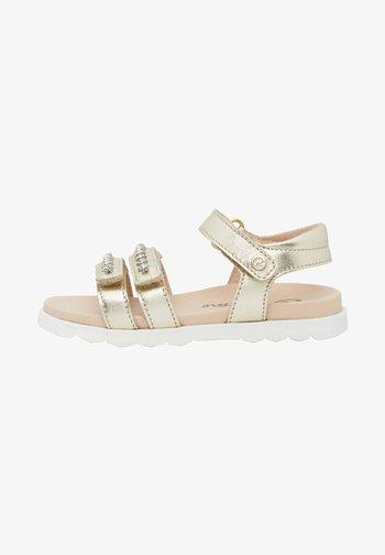 LUNARIA - Sandals - gold