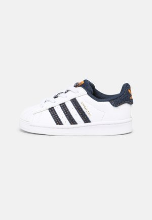 SUPERSTAR EL UNISEX - Sneakers laag - white/crew navy