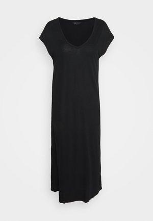 MAXI COLUMN DRESS - Noční košile - black