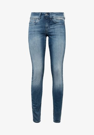 LYNN MID SKINNY - Jeans Skinny Fit - antic blue