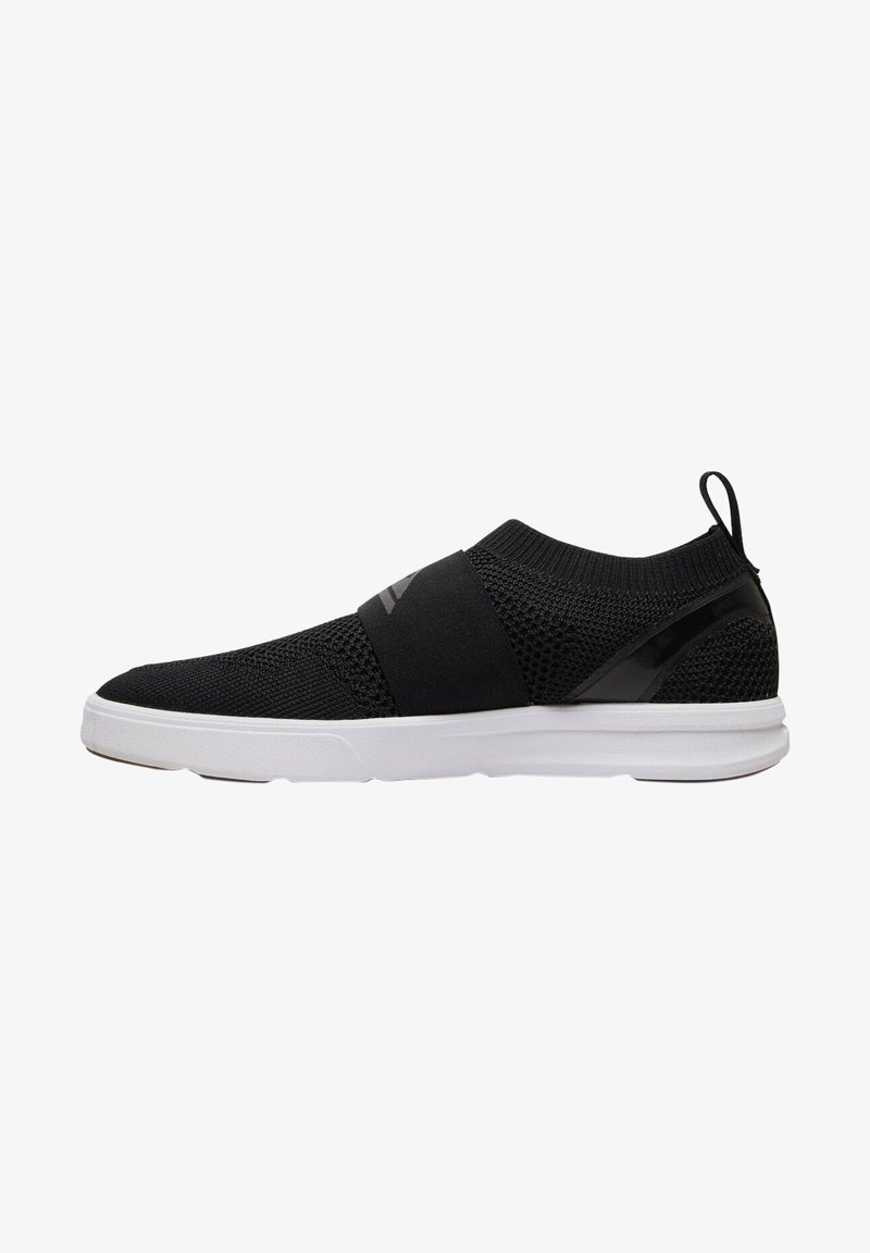 Quiksilver - Slip-ons - black/grey/white
