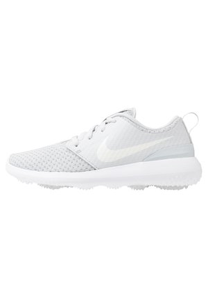 ROSHE - Golf shoes - pure platinum/metallic white/white