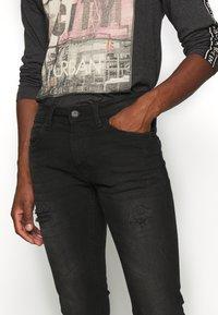 INDICODE JEANS - PALMDALE - Slim fit jeans - ultra black - 4