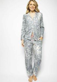 Cyberjammies - Pyjama bottoms - grey leaf - 1