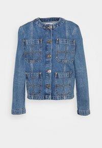 sandro - CANDICE - Denim jacket - bleu denim - 0