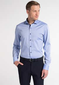 Eterna - SLIM FIT  - Shirt - hellblau - 0