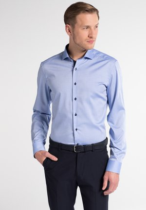 SLIM FIT  - Shirt - hellblau