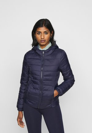 ONLNEWTAHOE QUILTED HOOD  - Light jacket - night sky