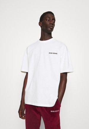 LOGO T-SHIRT UNISEX - Print T-shirt - cream