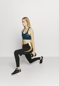 Nike Performance - BRA - Sport BH - valerian blue/metallic gold - 1
