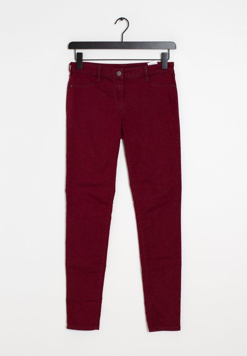 NAF NAF - Slim fit jeans - red