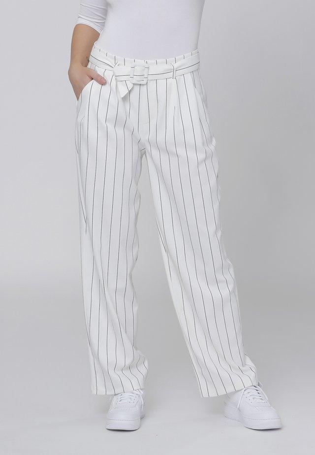 Bukser - off white stripe