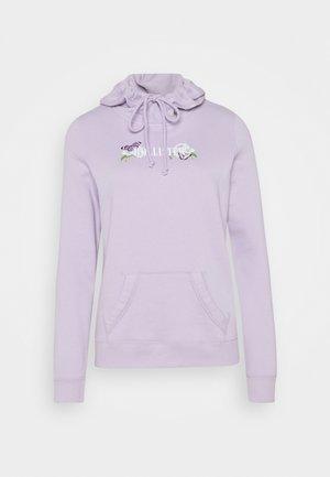 PRINT LOGO - Hoodie - purple