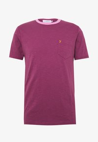 Farah - GROOVE TEE - Basic T-shirt - hippie purple - 4