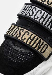 MOSCHINO - ORSO - Trainers - nero/oro/argento - 5