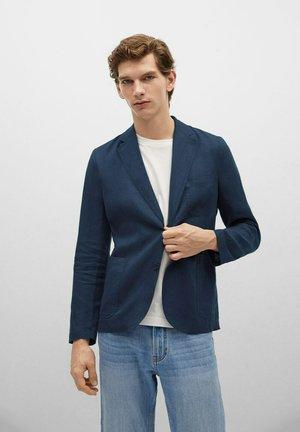 BISLAVE - Blazer jacket - azul marino oscuro