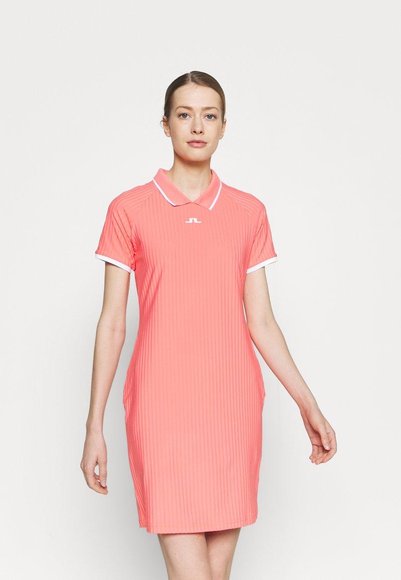 J.LINDEBERG - GOLF DRESS - Sports dress - tropical coral