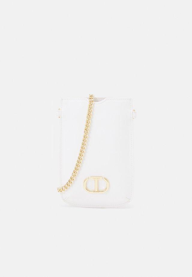 PORTA CELLULARE - Across body bag - bianco ottico