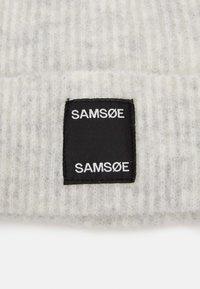 Samsøe Samsøe - BERNICE HAT - Lue - white melange - 2
