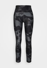 Under Armour - ROCK ANKLE LEGGING - Leggings - pitch gray - 3