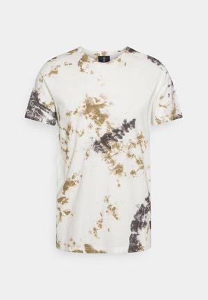 ALBAN TEE - Camiseta estampada - off white