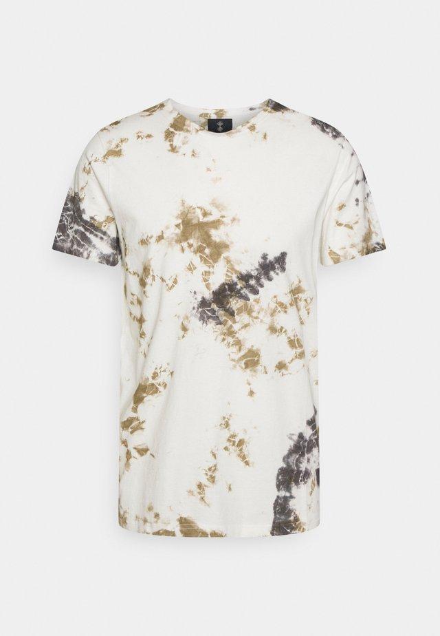 ALBAN TEE - Print T-shirt - off white