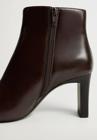 Mango - MOON - Classic ankle boots - chocolat - 4
