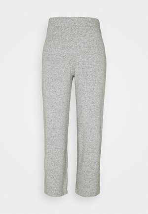 ALICIA CULOTTE TROUSERS - Bukse - grey melange