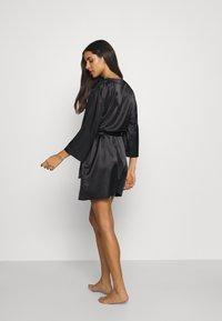 OW Intimates - CANDICE KIMONO - Dressing gown - black caviar - 2
