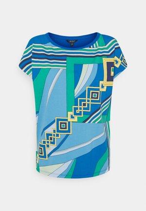 GRIETA SHORT SLEEVE - Print T-shirt - blue