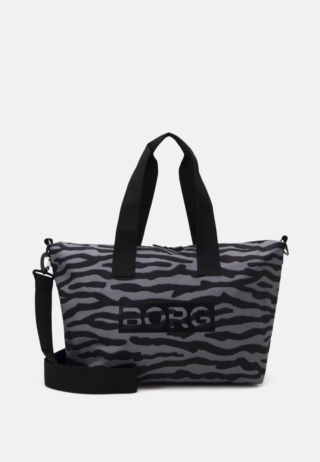 WANDA SHOULDER BAG - Bolsa de deporte - grey/black