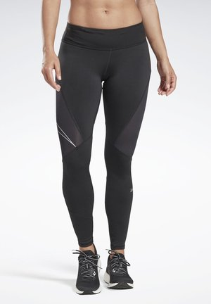 ONE SERIES RUNNING LOGO REFLECTIVE TIGHTS - Leggings - black