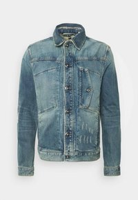 SCUTAR SLIM C - Denim jacket - kir stretch denim o-faded restored