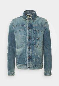 SCUTAR SLIM C - Denim jacket - kir stretch denim o-faded restored