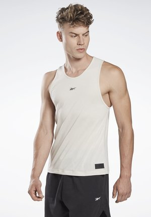 LES MILLS® ACTIVCHILL+COTTON TANK TOP - Top - white