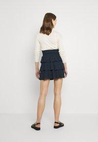Object - OBJANNA  - A-line skirt - sky captain - 2