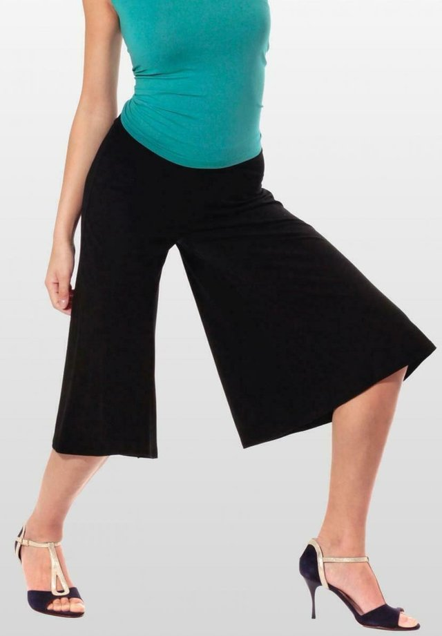 MADRID - 3/4 sports trousers - schwarz