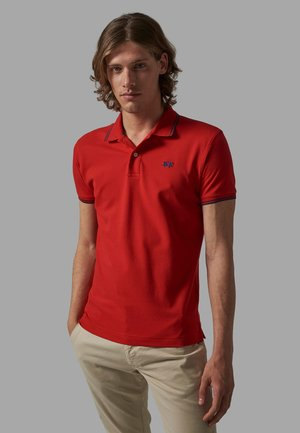 Polo shirt - calypso coral