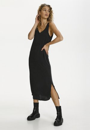 SAGA - Maxi dress - black wash