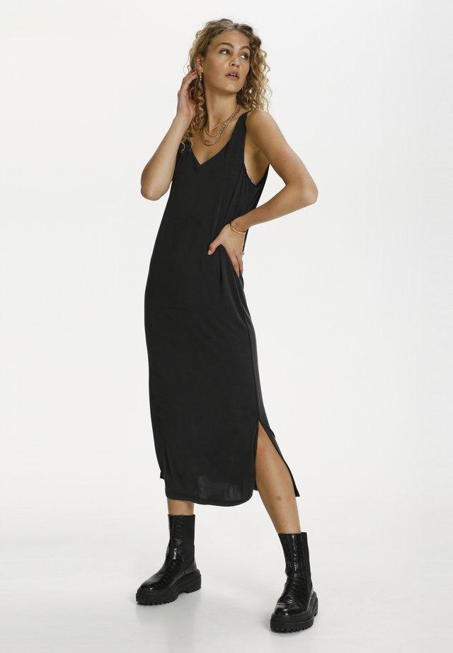 SAGA - Długa sukienka - black wash
