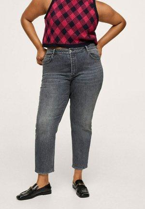 MAR - Slim fit jeans - denim grau
