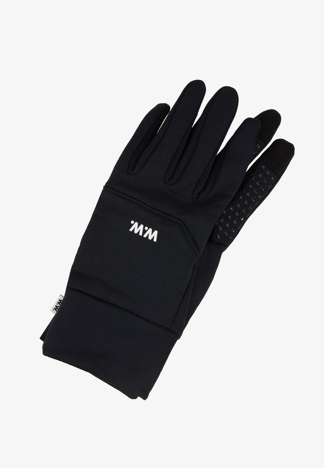 HOLGER GLOVES - Fingerhandschuh - black